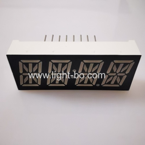 Ultra bright Red 0.47  4 Digit 14 segment LED Clock Display common cathode for for instrument panel