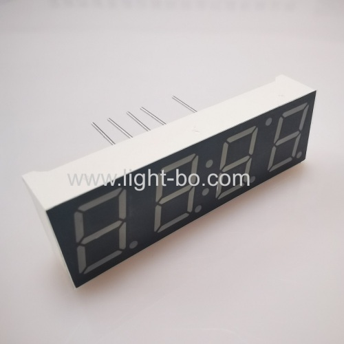 Ultra bright Red 10mm 4 Digit 7 Segment LED Clock Display common cathode for digital timer/clock indicator