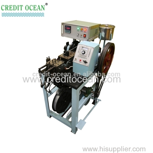 Automatic shoelace tipping machine