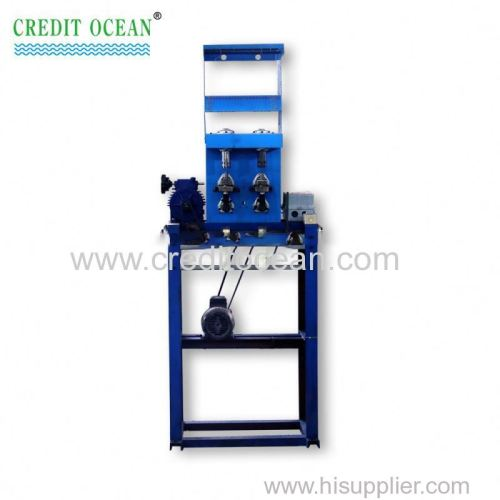 double heads multicolor cord knitting machine for garments