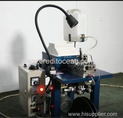 Credit Ocean semi-auto handbag lace or shoelace tipping machine