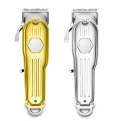 All metal Professional Barber Hair Clipper with Fade Blade