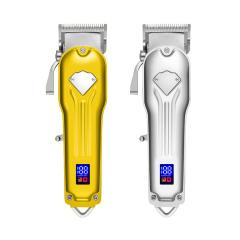 All-Metal Professional Hair Clippers Lcd Cordless Hair Trimmer For Men Hair Cutter Machine