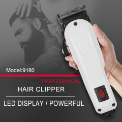 Hot Sale New Barber Favorable Hair Trimmer Cordless Battery Rechargeable Electric Hair Clipper