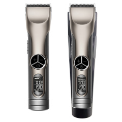 2021 New Model Professional Hair Cut Machine With Fire Hardened Carbon Steel Hair Clipper Blades