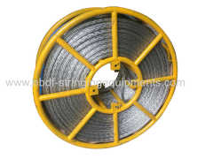 Anti Twisting Steel Wire Rope 10mm for stringing OPGW and Ground Wire