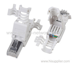RJ45 CAT.6A 8P8C UTP TOOLLESS PLUG