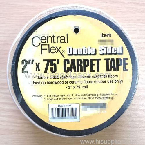 48mmx23M Double Sided Carpet Tape Brown 48mmx23M Double Sided Cloth Tape Brown