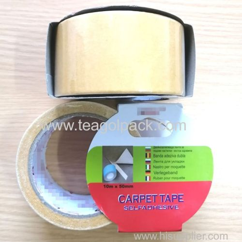 50mmx10M Double Sided Cloth Tape Brown