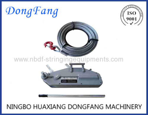 Tirfor Hand Cable Puller Winch of Stringing Tools