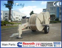 230KV Transmission Line Stringing Equipment 9 ton puller with 8 ton tensioner