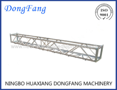 Aluminum alloy Working Platform for compression of conductor joints on tower