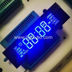 blue display;timer display;customized display;oven timer; blue clock display; led display module