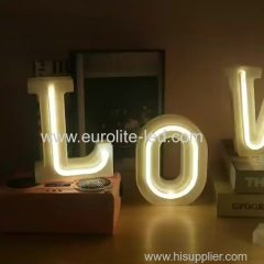 Led Neon 26 Letter USB Battery Dual For Decoration Night Light