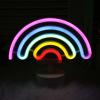 Rainbow Designs USB Battery Luminous Neon Signs Led Signature Gift Decoration Neon Light