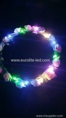 Party Hair Accessories Bridal Shower Bridesmaid Gifts Neon LED Flower Headband
