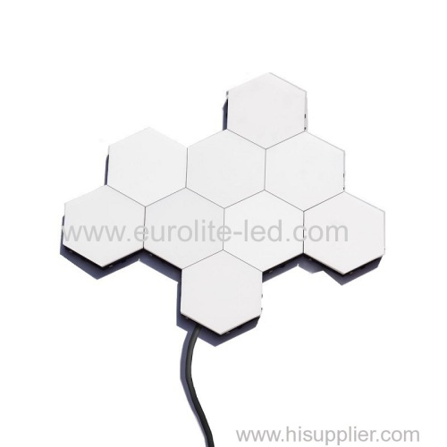 6pcs/Set High Quality DIY Honeycomb LED Magnetic Quantum Light Touch Night Lamp