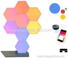 Led Wifi APP Smart Control USB QuantumHoneycomb Hexagon Light For Living room bedroom study dining room Wall Ceiling