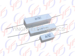 wire wound 5Watts fixed power cement resistors