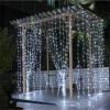 Led Fancy 3*3m 300leds Customized Socket 8 Function Wedding Holiday Decoration Curtain Light
