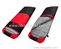 Comfortable down sleeping bags