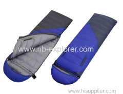 Down filling sleeping bag