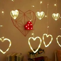 Valentine's Day Fairy Led Love Curtain For Holiday Wedding Decoration String Light