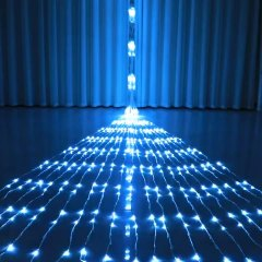 3X3M Waterfall Curtain Led Fairy String Light Garland Water Flow Meteor Shower Rain Light Window Icicle Decor Light