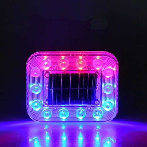 Magnetron Solar Flashing Light Truck Anti-Chasing Warning Side Wiring-Free LED Car Truck Tail Light