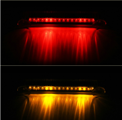 Automotive Solar Flashing And Rear-End Taillight Warning Light LED Suction Cup Sensing Light