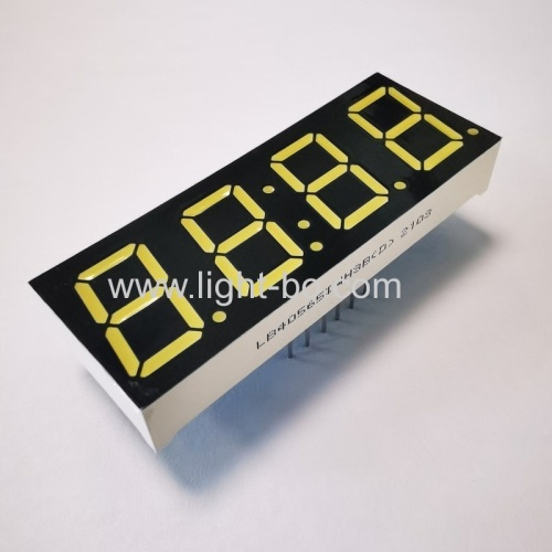 Ultra bright white 4 Digit 0.56inch 7 Segment LED Clock Display Common anode for clock timer indicator