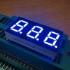 Ultra bright white 0.4inch Triple Digit 7 Segment LED Display common anode for Temperature indicator