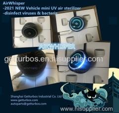 Portable auto air purifier UV mini USB air sterilizer for car EV 2021 new -China made wholesale-China