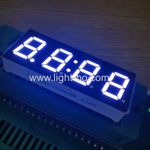 ультра-белый 0,4-дюймовый 4-разрядный 7-сегментный светодиодный дисплей с общим катодом для панели управления бытовой техникой