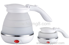 Hot Sale silicon Material Electric Portable Folding Travel Kettle