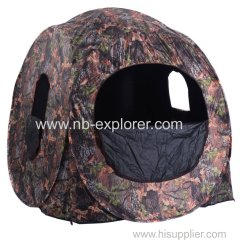 Camo fabric POPUP hunting tent
