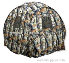 POPUP Hunting tent camo fabrics