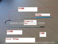 CREDIT OCEAN Iron Wire black wire
