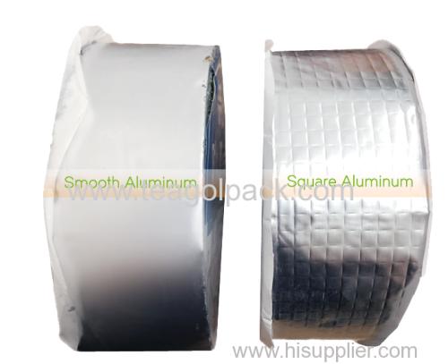 10cmx5M Square Aluminium Butyl Rubber Self Adhesive Flash Tape Waterproof