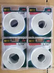 40mmx3.35M Self-Adhesive Border Tape White