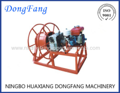 Engine Motorised Winch Take-up Machine SJZ-10B