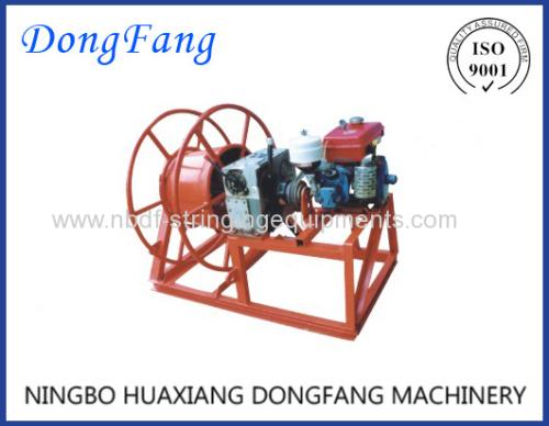 Engine Motorised Winch Wire Recover Machine LJ-500B