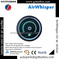 UVC UVA TIO2 air purifier air sterilizer for car EV China wholesale 2021 new auto parts AirWhisper
