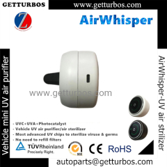 White or Black UV UVC UVA air sterilizer air purifier AirWhisper for breath safety in small space-Getturbos auto parts