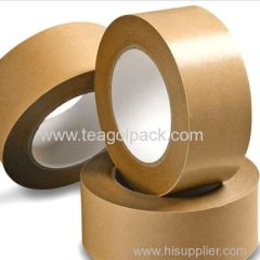 50mmx100M 70mmx100M Adhesive Kraft Paper Packing Sealing Tape Brown