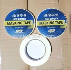 12mmx50M Masking Tape Cream