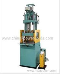 Vertical clamping and vertical injection machine