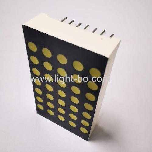 Ultra white 1.5 3mm 5*7 dot matrix led display for lift position indicator