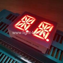 ультра яркий красный общий анодный двухразрядный 0,54-дюймовый 14-сегментный буквенно-цифровой светодиодный дисплей
