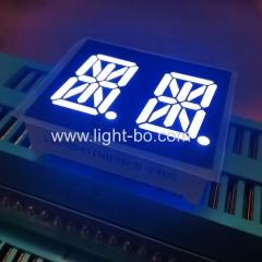 Ультра Белый 14-сегментный светодиодный дисплей 0.54-дюймовый Dual-значный Общий анод для приборной панели